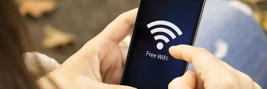 WiFi on mobile device