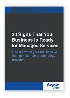 20 Signs That Your Business is Ready for Managed Services Ebook
