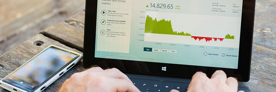 graph on a Laptop