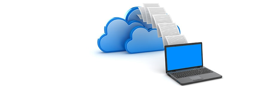 Virtual files uploading to the cloud