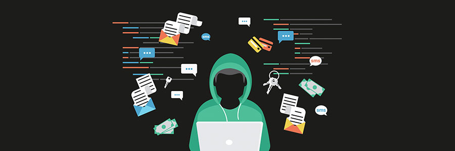 virtual hacker on a network