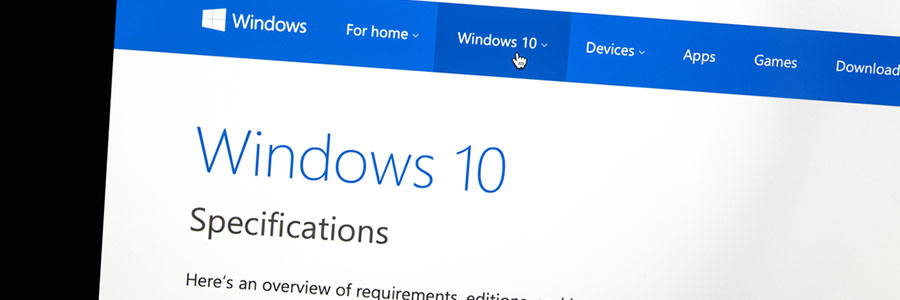 Windows 10 Specifications