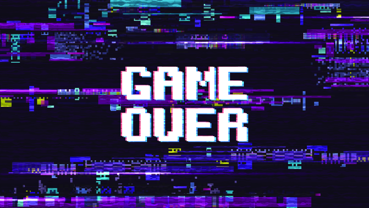 Game Over graphic